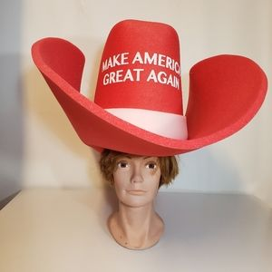 Cowboy Hat  Make America Great Again